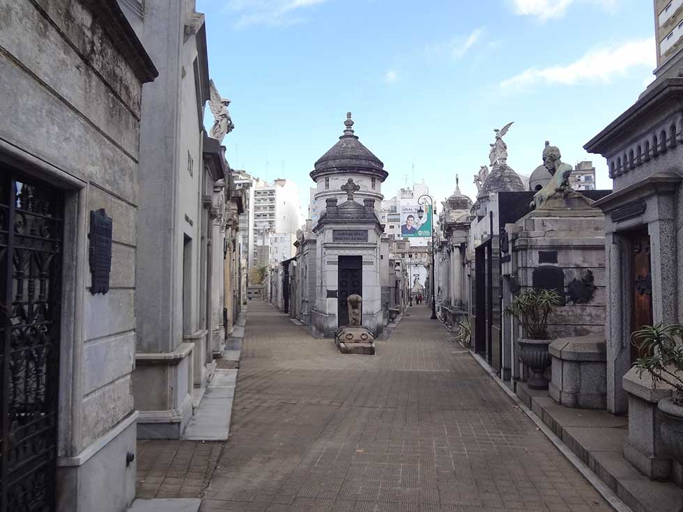 Recoleta Cemetery in 3 days in Buenos Aires
