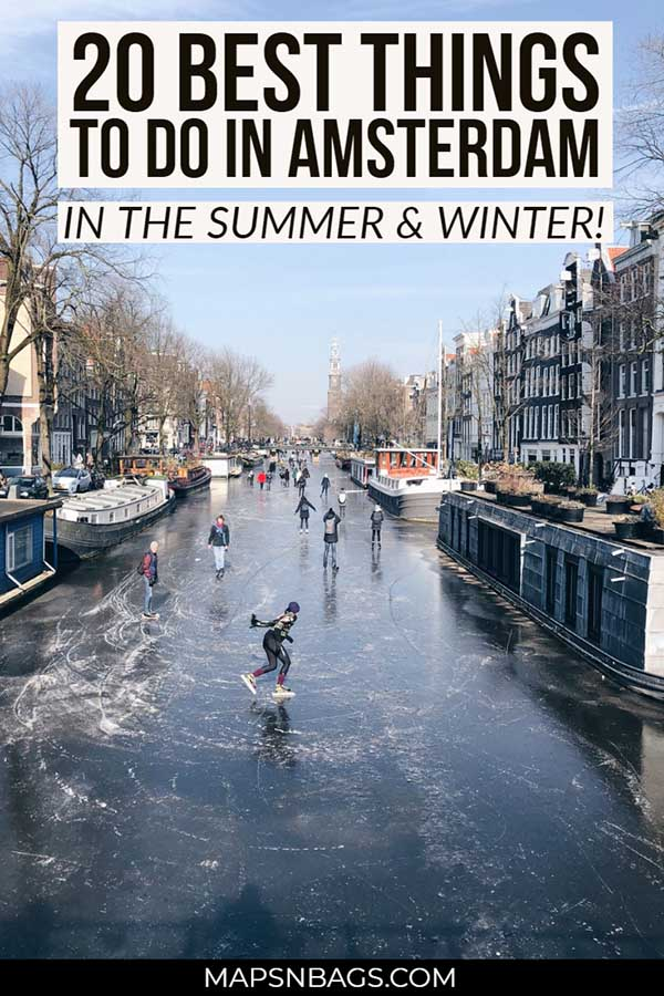 The perfect things to do in Amsterdam in December | winter in Amsterdam | Christmas in Amsterdam | planning your Amsterdam itinerary | Amsterdam travel tips | travel tips for Amsterdam | things to do in Amsterdam in the winter | Amsterdam Light Festival