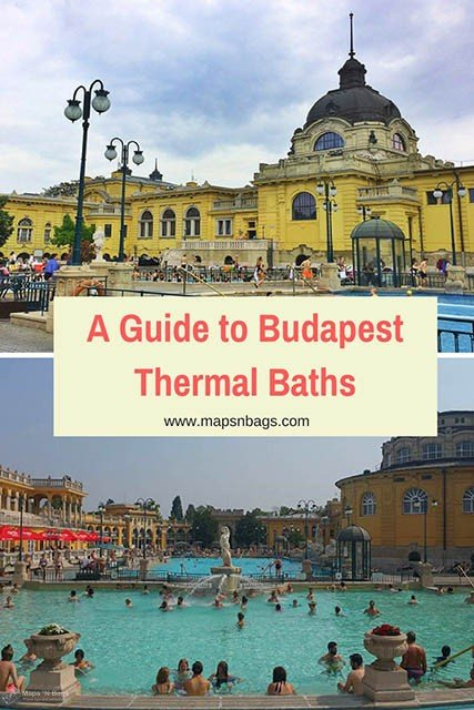 Best guide of the top 5 thermal baths in Budapest! The thermal baths are traditional places in the Hungarian culture and you can't miss them! Besides, this is a relaxed way to experience another culture. Read further for more information about the thermal baths of Budapest. #budapest #thermal #baths #hungary #travel