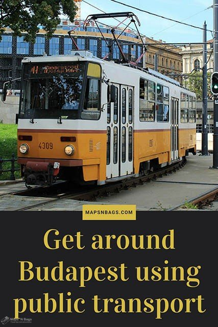 How to get around Budapest using public transport. Read more to check public transport tips for your travel to the Hungarian capital. Also, we included some extra's, such as taxi and bike, to give you a little help (and save money)! Check it out! #Budapest #publictransport #Hungary #travel