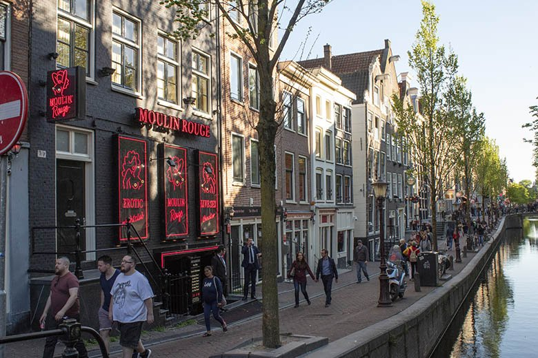 Mounlin rouge in Amsterdam