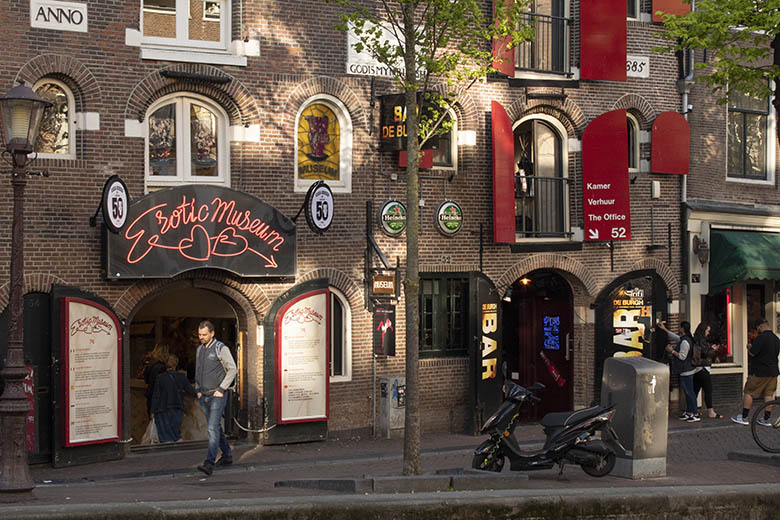Sex shop in Amsterdam