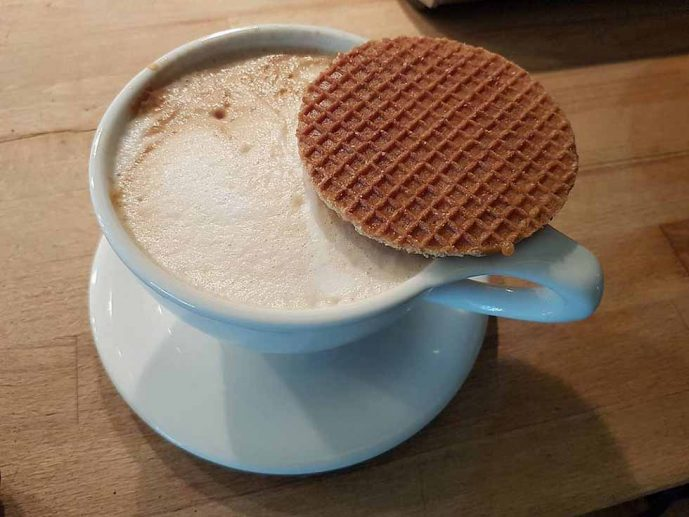 Typical Dutch Food, Stroopwaffel