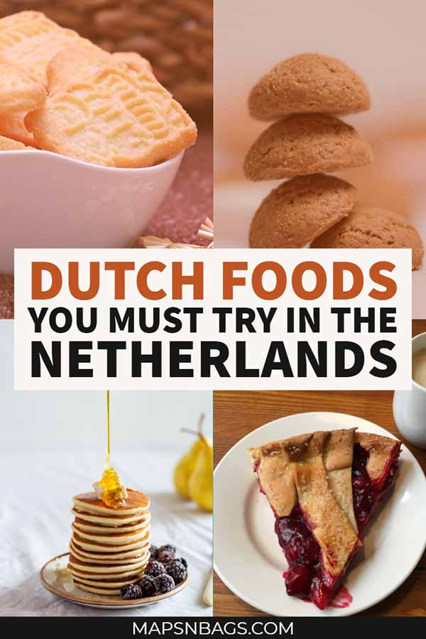 Check out these Dutch foods when in the Netherlands. Tips of what and where to eat written by a local. Check it out! #DutchFood #Netherlands #Traditional #Holland #Dinners #Desserts #Amsterdam #Snacks #Authentic #typical #photography #list #mashedpotatoes #cakes #butter