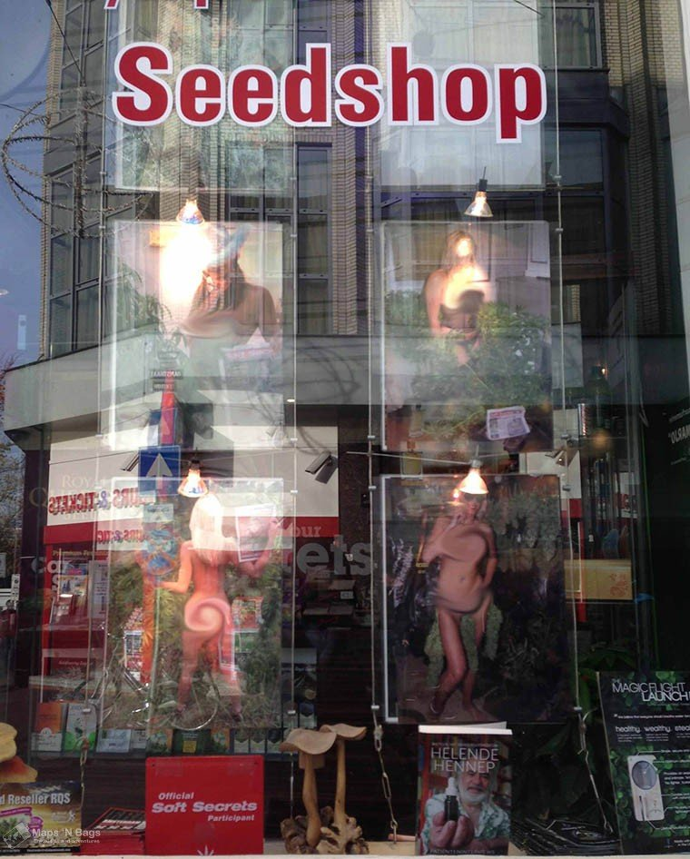 Seedshop in Amsterdam