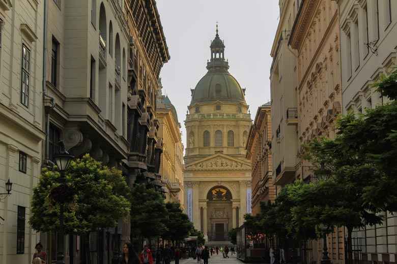 St Stephens Basilica in Budapest
