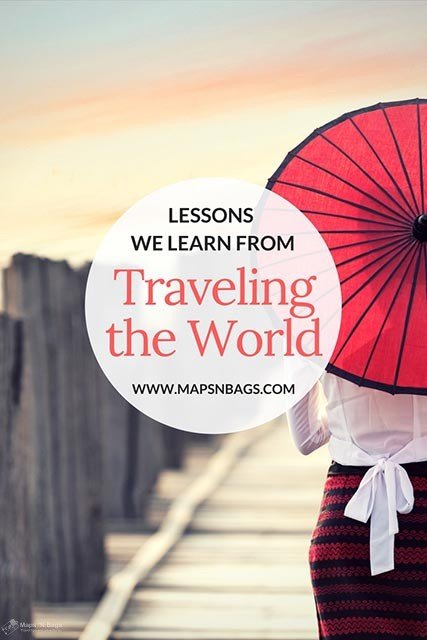 Find out why traveling is not only a gratification but also a big school without walls. We learn so many lessons from traveling the world, it doesn't matter if we travel with our friends or solo: stepping out of our comfort zone is liberating! #inspiration #travel #learn