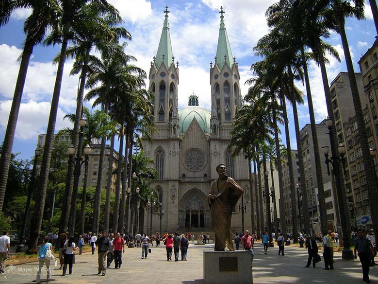 Se-cathedral-palm-trees-sao-paulo-things-to-do-Brazil