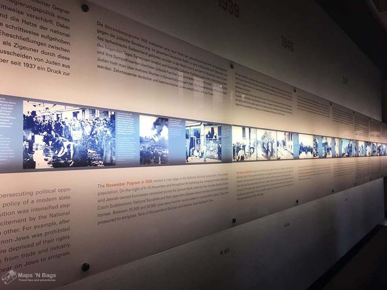 white-wall-lights-Information-Center-holocaust-Memorial-the-berlin-of-the-second-world-war