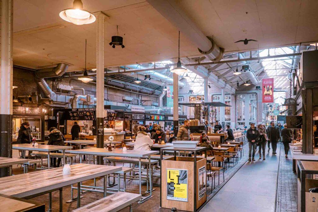 Foodhallen is a Food Market in Amsterdam