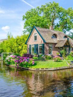 Giethoorn, the Netherlands, the Venice of the North