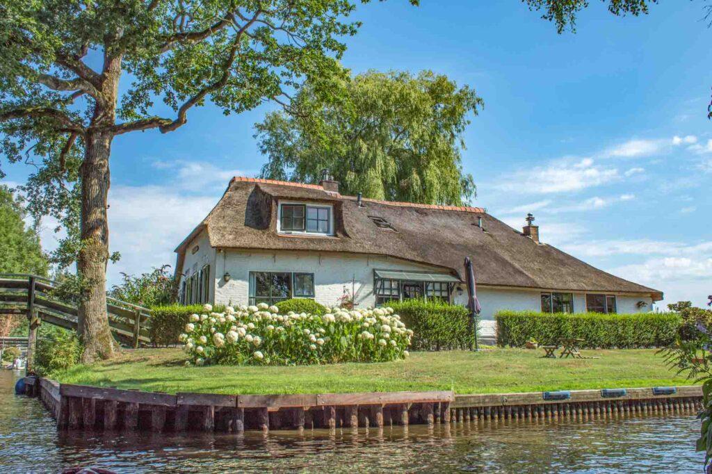 Farmhouse in Giethoorn Village, the Netherlands