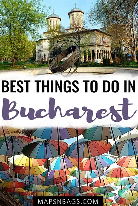 Bucharest is famous for once being home to Dracula, but there is way more to find out about Romania in this interesting city. I've put together a list of top things to do in Bucharest, so you can have an awesome time in the Romanian capital! #Romania #Bucharest #Travel #itinerary #thingstodo #Europe