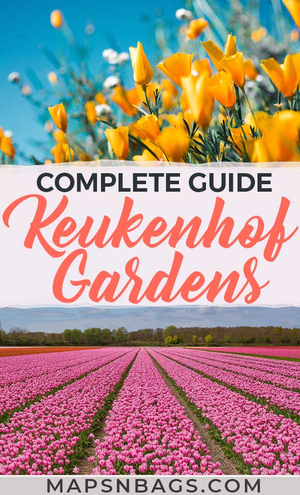 Looking for a fairytale place in Europe? The Keukenhof Garden, Netherlands, is the perfect travel destination for Instagram-worthy pictures. Also, this post is jam-packed with practical tips for you! Check it out! #keukenhof #photography #holland #netherlands