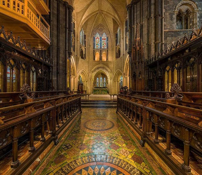 Include the Christ Church Cathedral in your 2 days in Dublin itinerary