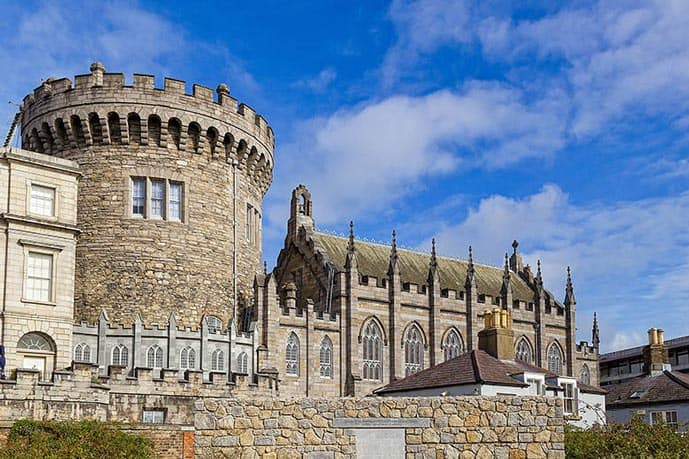 The Dublin Castle is a must-see in two days in Dublin