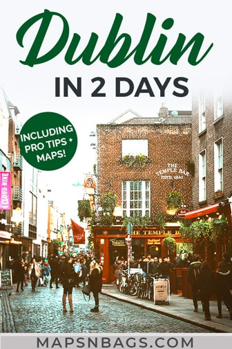 Pinterest graphic Dublin
