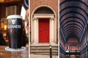 Collage of Dublin images