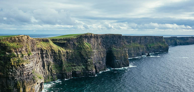 Harry Potter's cave at the Cliffs of Moher, Ireland #Ireland #CliffsofMoher #Europe #Travel