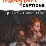 Travel puns and funny Instagram captions for selfies