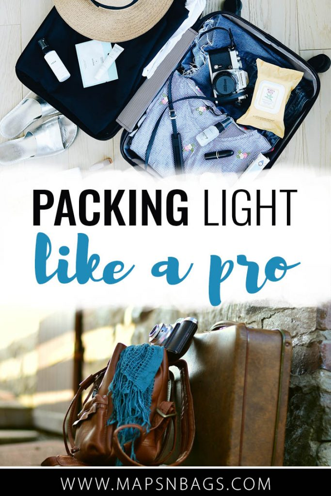 How to pack light for a trip? The answer to that question is much easier than you think. Here, I've listed what I've learned on the road about packing all you need in a carry on. These tips apply for packing for a weekend away, for a week or a whole month! Check it out! #PackingLight #Backpack #Foratrip #traveltips #travelinglight #carryon