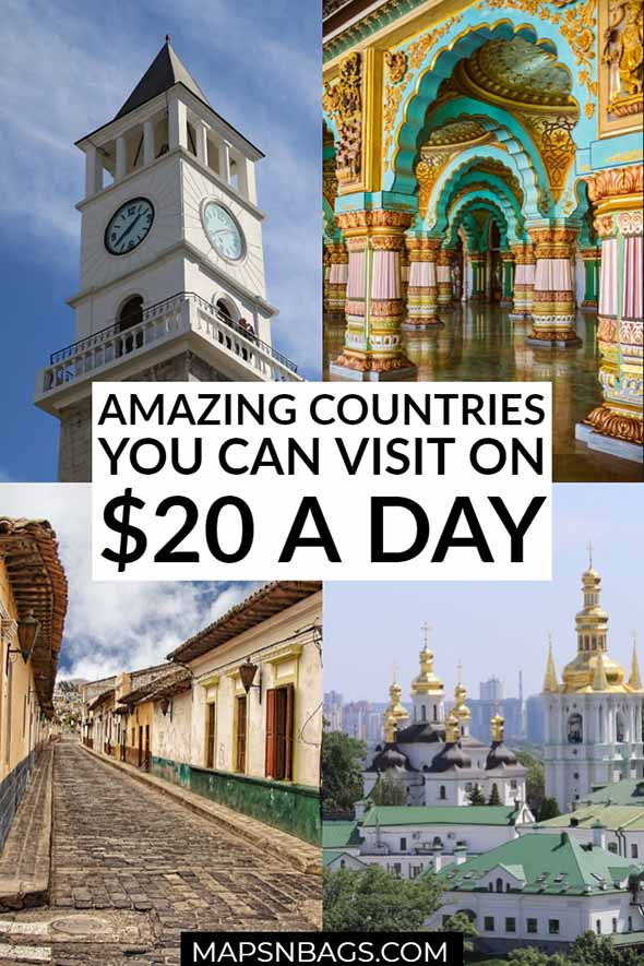 The world seems to be getting more and more expensive, and for that reason, this post includes the best and cheapest destinations to travel to. #Europe #BucketList #Tips #Money #Trips #budget #VacationSpots #Adventure #Asia #solo #Ideas #Beach #countries #India #Thailand #Myanmar #Vietnam #Malaysia #Albania