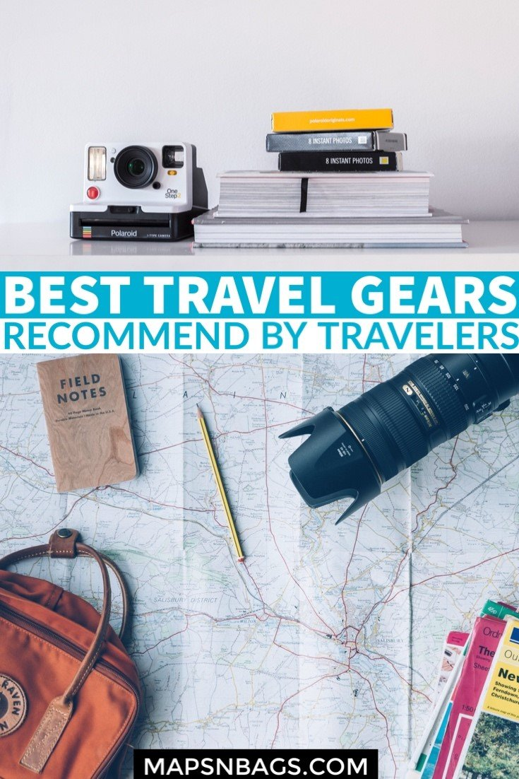 To help you find the best travel essentials for all sorts of trips, I asked professional travelers what their favorite travel gears are. Check it out! #Gadgets #ForWomen #International #Fun #ForMen #Products #Backpacking #Best #Bags #Accessories #adventure #Airplane #luggage #photography #outdoor