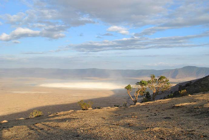 Crater Ngorongoro in Kenya