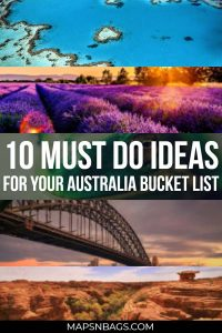 From diving in the blue ocean to climbing a steel bridge in the middle of Sydney. This mind-blowing Australia bucket list is ready to be used and copied. #Thingstodo #Sydney #Travel #summer #Australia #Dreams #NationalParks #Fun #Adventure #GreatBarrierReef #Trips #Perth #Tasmania #heart #BucketList