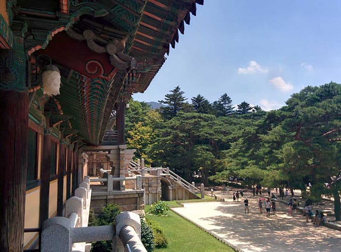 Gyeongju in South Korea