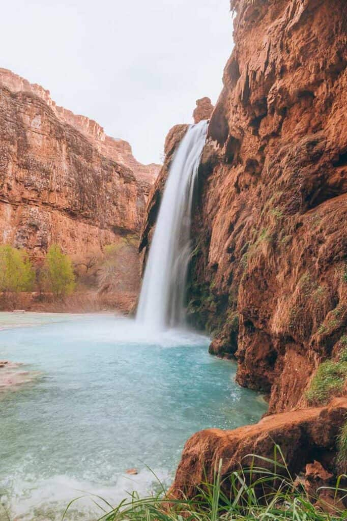 Havasu Falls in the US
