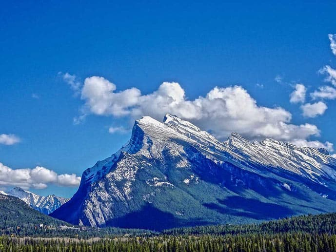 Mount Rundle trail is one of the best hikes in Banff