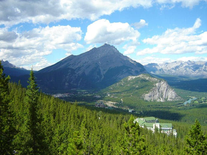 Tunnel Mountain trail is one of the best hikes in Banff