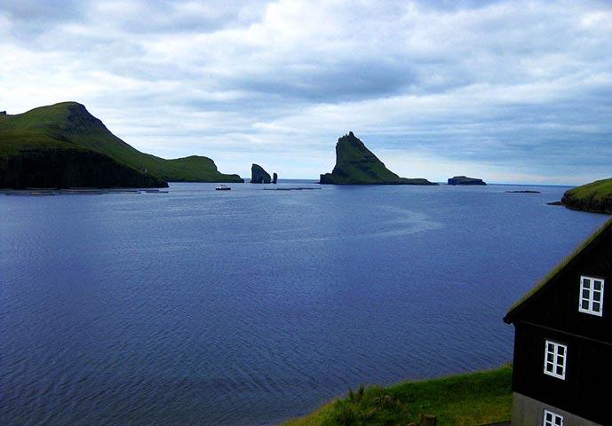 Srvagsfjrdur in Faroe Island