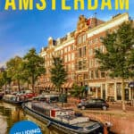 3 days in Amsterdam Pinterest graphic