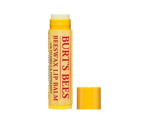Lip balm for winter in Europe.