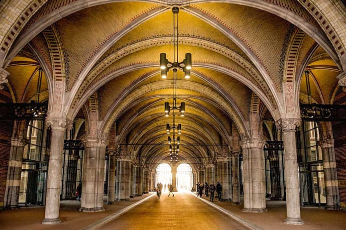 The Rijksmuseum is an Instagrammable spot in Amsterdam