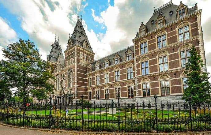 The Rijksmuseum is a must during three days in Amsterdam