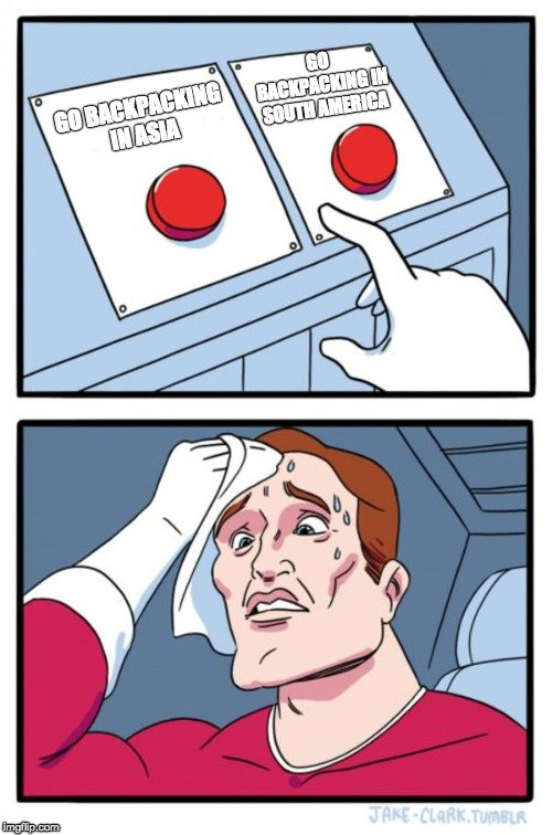 Which buttons should I press meme.