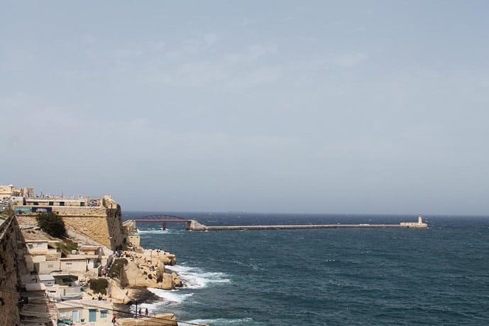 Winter in Valetta