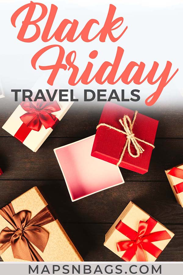 Best Black Friday travel deals to plan your next vacation! Check out these amazing deals. Including many promo codes for clothing brands. #BlackFriday #CyberMonday #TravelDeals #Deals