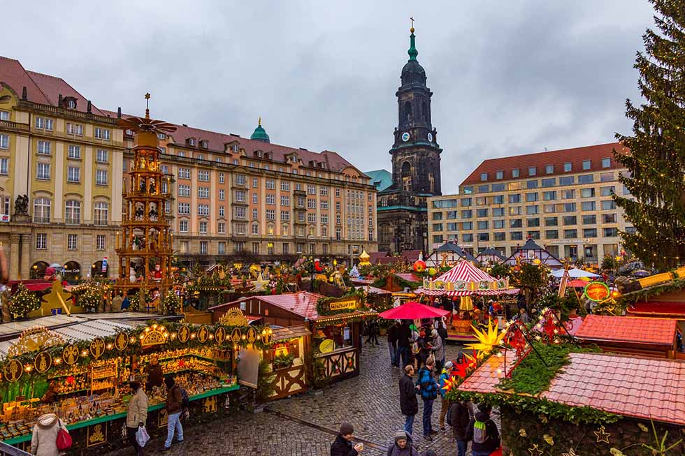Christmas market in Dresden.