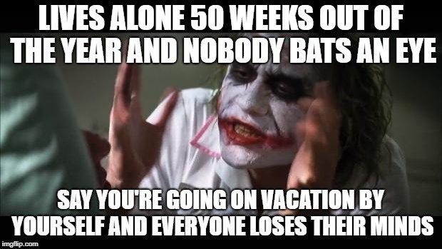 Joker travel meme explaining something