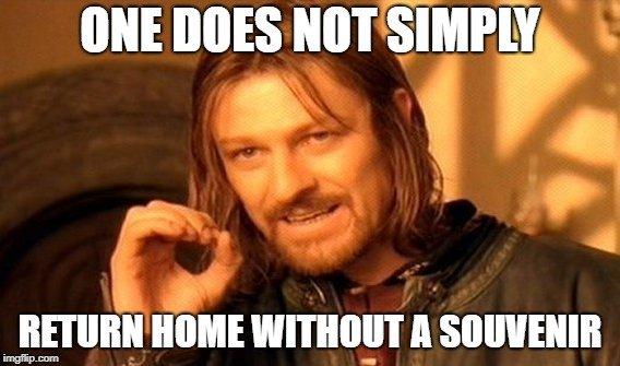Boromir travel meme