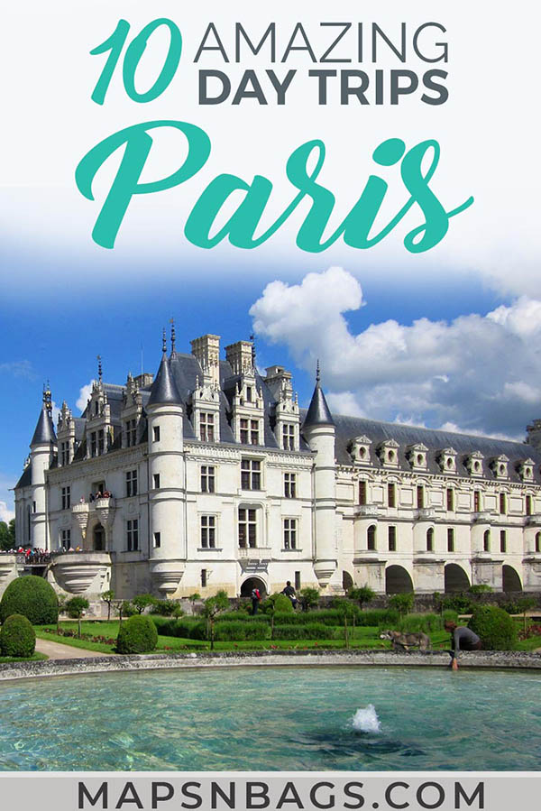 Don't miss these charming and beautiful day trips from Paris by train. We have also included many beautiful chateaus and how to get there. So, be sure to go on a day trip to London or to Normandy this winter. Oh and we have many other suggestions than Versailles. Read more! #Paris #France #bytrain