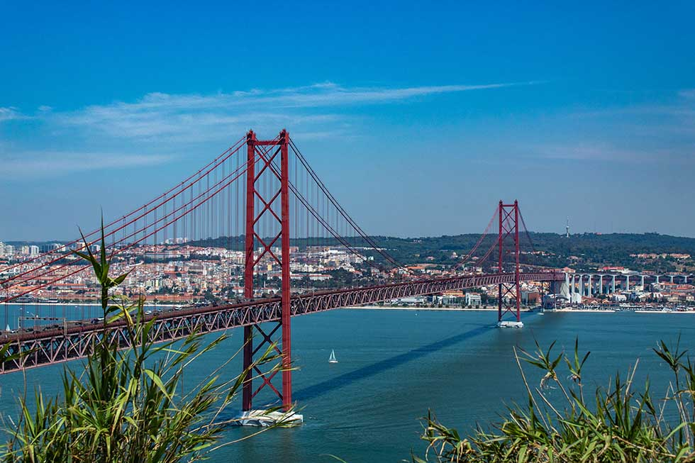25th April bridge in Lisbon #Portugal #travel #Europe