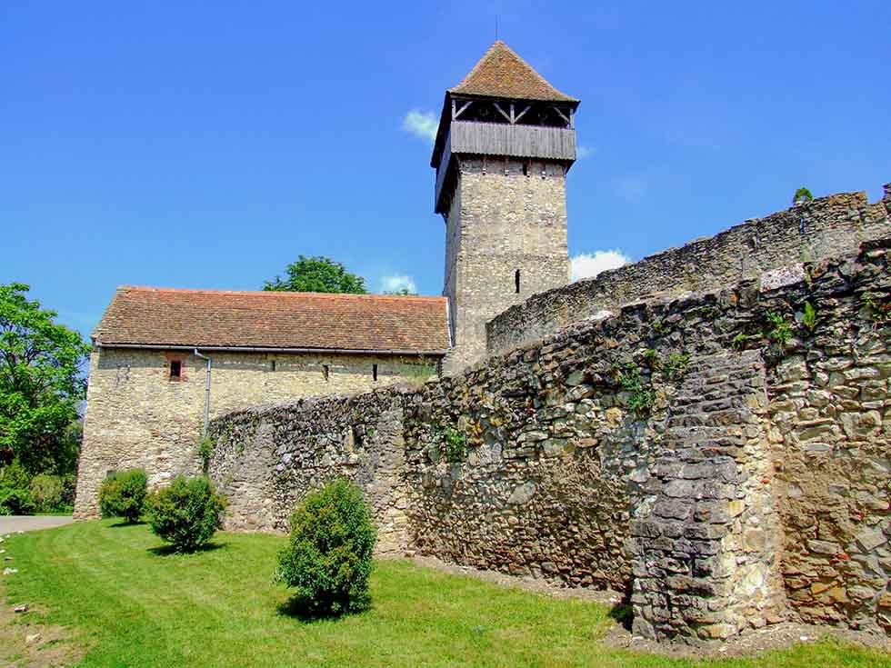 Câlnic Citadel in Romania