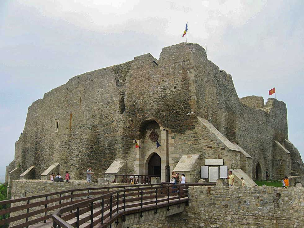 Neamt Castle near the Moldavia border