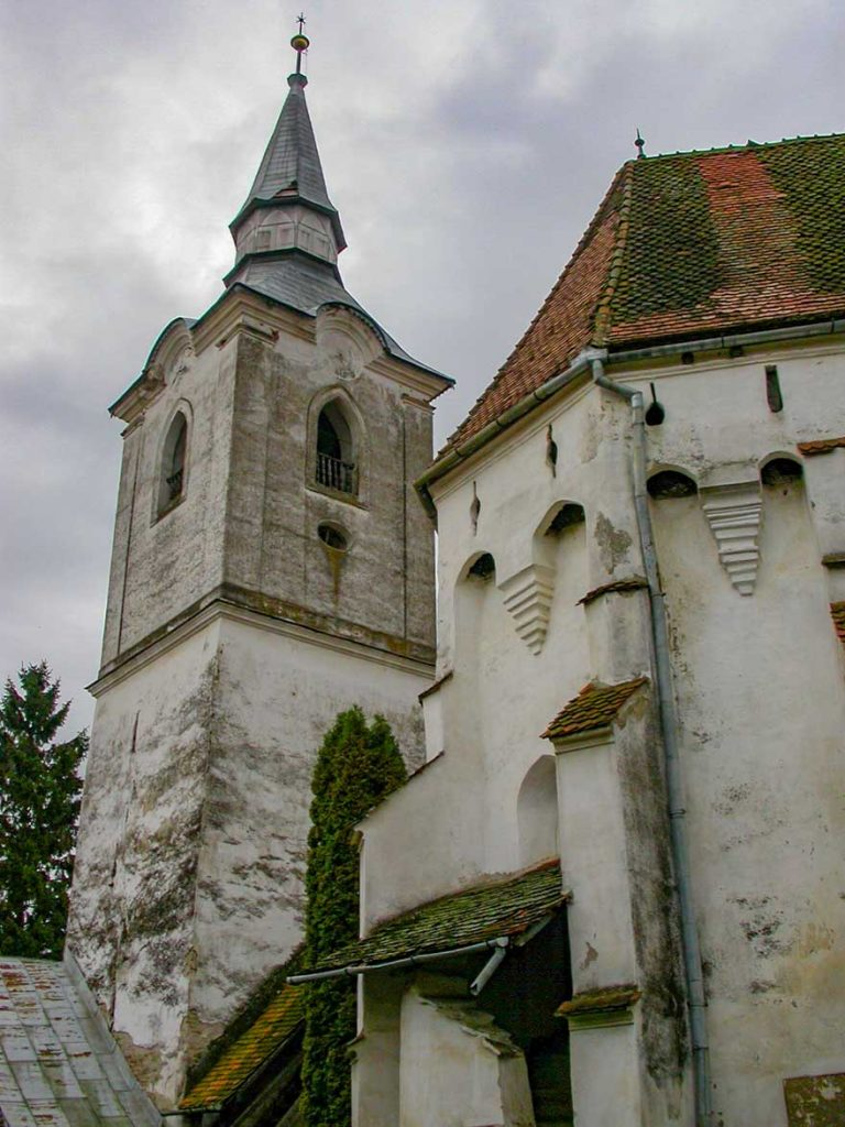 Darjiu Fortified Church in Romania