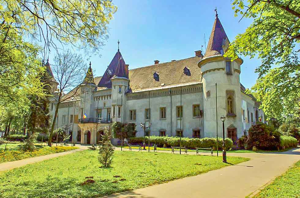 Karolyi Castle in Carei, Romania